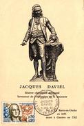 CARTE PREMIER JOUR - FDC - JACQUES DAVIEL 1963 - FDC