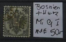 K.u.K Österreich B.und H Mi:9I USED Siehe Scan - 1850-1918 Imperium