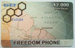 Guyana GTT $2,000 Freedom Cellular - Guyane