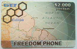 Guyana GTT $2,000 Freedom Cellular - Guyana