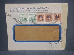 ESPAGNE - Enveloppe Commerciale De Barcelone En 1938 Pour Paris Avec Censure - L 7371 - Republikanische Zensur