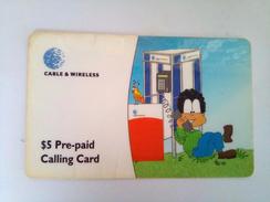 Dominica Phonecard  EC$5 Remote