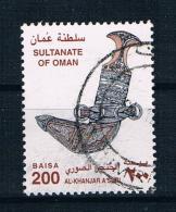 Oman 2001 Dolch Mi.Nr. 506 Gestempelt) - Oman