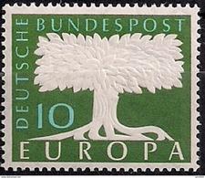 1957 Deutschland Germany  Allem. Fed. Mi. 294  **MNH  WZ : 5 - Europa-CEPT