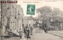 CIGNE LA GRANDE RUE ANIMEE 53 MAYENNE - France