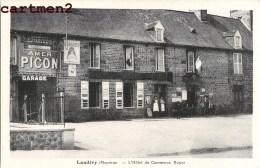 LANDIVY HOTEL DU COMMERCE ROYER ANIMEE PUBLICITE AMER PICON 53 MAYENNE - Unclassified