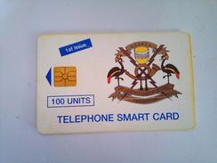 Uganda Phonecard 100 Units FIRST ISSUE