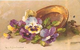KLEIN Catharina (illustrateur) - Fleurs , Pensées. - Klein, Catharina