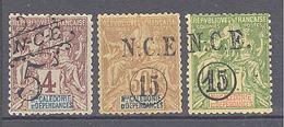 Nouvelle Caledonie: Yvert N° 51/56*; Le 58 Clair - Ungebraucht