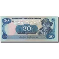 Nicaragua, 20 Cordobas, 1985 (1988), KM:152, NEUF - Nicaragua