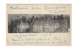 ( GUIDEL ) Château De Bothané  Par Quimperlé . Carte De Service écrite 1928 - France