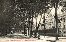 VIET-NAM - COCHINCHINE - SAIGON Rue De Lagrandière Et Palais Du Lieutenant Gouverneur - Viêt-Nam