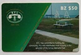 Belize Phonecard BZ$50 Former Ramada Park