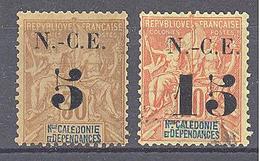 Nouvelle Caledonie: Yvert N° 65/66(*) - Neufs
