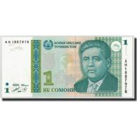 Tajikistan, 1 Somoni, 1999 (2000), KM:14A, NEUF - Tadjikistan