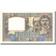 France, 20 Francs, 20 F 1939-1942 ''Science Et Travail'', 1941, 1941-10-30 - 1871-1952 Anciens Francs Circulés Au XXème