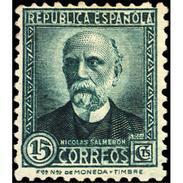 ES657STV-LTV***657STCSC.Spain.Esgane.PERSONAJES ILUSTRES.NICOLAS SALMERON. 1931 (Ed 657**) - 1889-1931 Reino: Alfonso XIII