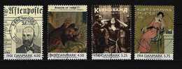DÄNEMARK - Mi-Nr. 1234 - 1237 Ereignisse Des 20. Jahrhunderts Gestempelt - Gebraucht