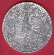 France 10 Euros Argent Des Régions Centre 2012 - France
