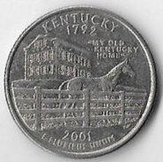 USA Kentucky 2001D 25c States [C159/1D] - 1999-2009: State Quarters