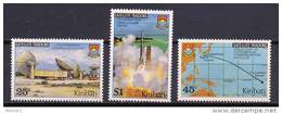 Kiribati 1980 Space Set Of 3 MNH