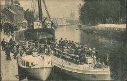 Quimper - Départ Des Bateaux Pour Bénodet - Quimper
