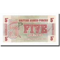 Grande-Bretagne, 5 New Pence, 1972, KM:M47, SPL+ - Military Issues