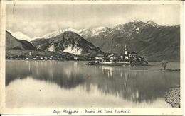 Baveno E Isola Superiore (Verbano, Piemonte) Lago Maggiore, Panorama Dalla Sponda Opposta Del Lago - Verbania