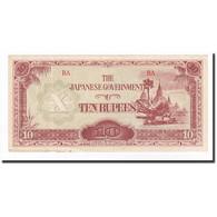 Birmanie, 10 Rupees, 1942-1944, KM:16b, SPL - Myanmar