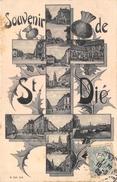 88-SAINT-DIE- SOUVENIR DE SAINT-DIE , MULTIVUES - Saint Die