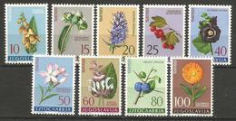 Yugoslavia,Flora 1961.,MNH - Ongebruikt