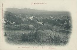 31, Haute-Garonne, SAINT-MARTORY, Panorama Sur La Vallée De La Garonne, Scan Recto-Verso - Francia