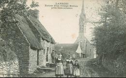 Lanriec - Entrée D' Un Village Breton Près Concarneau (rare) - Frankreich
