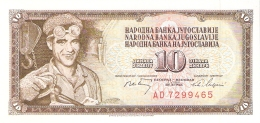 YOUGOSLAVIE   10 Dinara   1/5/1968   P. 82c   UNC - Yugoslavia