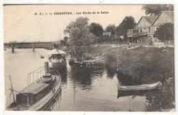 95 - ARGENTEUIL - Les Bords De La Seine - PF 11 - Chantier Naval - Buvette - Argenteuil