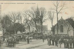 Ploujean - Environs De Morlaix - La Place Et L' Eglise - Frankreich