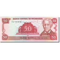 Nicaragua, 50 Cordobas, 1985-1988, KM:153, 1985, SPL+ - Nicaragua