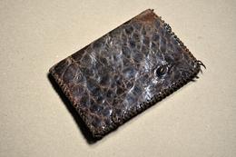 Porte-feuille Ancien En Croco - Accessories