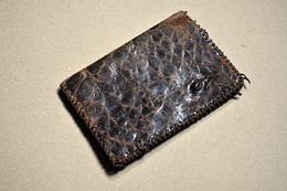 Porte-feuille Ancien En Croco - Accessoires