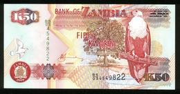 Sambia - Zambia 2009, 50 Kwacha - UNC - BS 03 4549822 - Zambia
