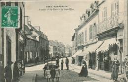 Rosporden - Avenue De La Gare Et La Grand Rue - Frankreich