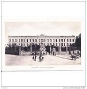 CCRTP4141CPA-LFTMD8209TMICA.Tarjeta Postal DE CACERES.Edificios,niños JugandoCUARTEL DE INFANTERIA.Caceres - Cáceres