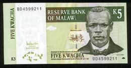 Malawi 2005, 5 Kwacha - UNC - BD4599211 - Malawi