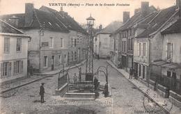 51 - Vertus - PLace De La Grande Fontaine - Vertus