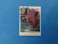 2000 SAN MARINO FRANCOBOLLO USATO STAMP USED - Fondazione Repubblica Composizione Simbolica 0,41- - San Marino