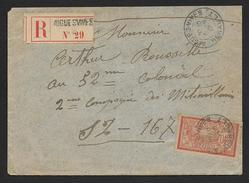 Hérault - Lettre Recommandée  D' AIGUES VIVES - Postmark Collection (Covers)