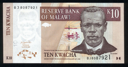 Malawi 2004, 10 Kwacha - UNC - BJ8087921 - Malawi