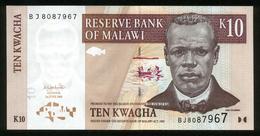 Malawi 2004, 10 Kwacha - UNC - BJ8087967 - Malawi