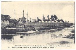 Cpa Liban / Syrie - Damas - Vue Générale De La Mosquée Du Sultan Selim Et La Barrada - Syrie