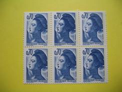 Liberté De Gandon 1982, N° 2240, Ré-entry, Double Frappe Sur-impression Côte 20€ - Unused Stamps